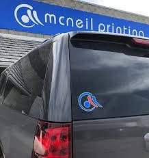 Custom Car Window Decals Stickers Mcneil Printing In Orem Utah Mcneil Printing In Orem Utah