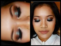 makeup tutorial using mac s blue brown