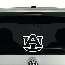 Auburn Car Decal Tigers Outline Mom University Logo Vinyl O Cosmic Sutanrajaamurang