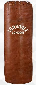 lonsdale vintage colossus punch bag