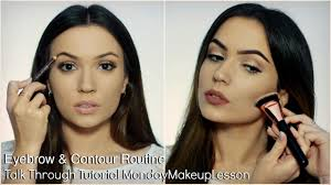 beginners talk through makeup tutorial
