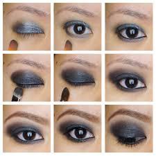 black smokey eye tutorial kirei makeup