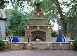 how an outdoor fireplace can boost your