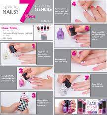 7 steps to using nail stencils like a