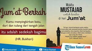 kumpulan kata kata bijak islami hari jumat selain jumat berkah