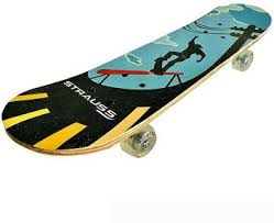 Strauss Bronx KD Skateboard for Kids 23 inch x 6 inch Skateboard - Buy  Strauss Bronx KD Skateboard for Kids 23 inch x 6 inch Skateboard Online at  Best Prices in India - Street Skating | Flipkart.com