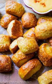 soft pretzel bites sally s baking