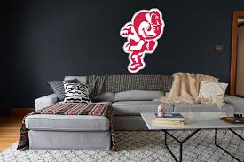 Ohio State Buckeyes Mascot Sticker Vinyl Decal 10 Sizes Sportz For Less