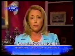 EIE President Donna Rice Hughes joins the Today Show June 2004 ...