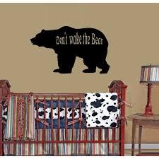 Don T Wake The Bear Large Wall Decal 20 X 25 Large Walmart Com Walmart Com