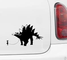 The Decal Store Com By Yadda Yadda Design Co Car Dinosaur Pet Child With Stegosaurus Car Truck Atv Vinyl