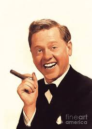 Mickey Rooney, Vintage Actor Painting by Esoterica Art Agency