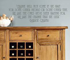 Obama Quote Wall Decal Trading Phrases