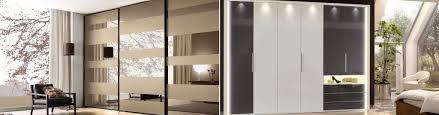 sliding mirror wardrobe doors in
