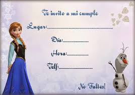 Invitaciones Imprimibles Gratis Frozen Ondedrawer