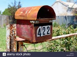 Australian Letter Box High Resolution Stock Photography And Images Alamy