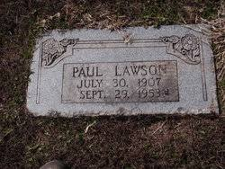 Paul Lawson (1907-1953) - Find A Grave Memorial