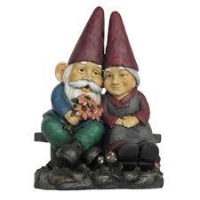 gnome couple garden ornament homebase