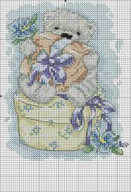 Lynette West adlı kullanıcının Cross stitch Teddies panosundaki Pin  (Görüntüler ile) | Havlular, Fotoğraf