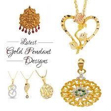 gold pendant designs for men and women