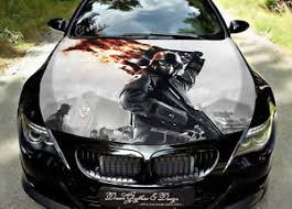 Soldier Car Hood Wrap Decal Vinyl Sticker Full Color Graphic Fit Any Car Ebay