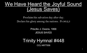 Hymn by Priscilla Owens - ppt download