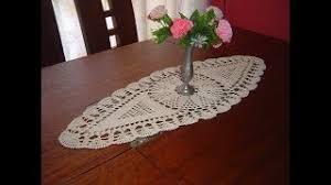 o tejer carpeta ovalada o centro de