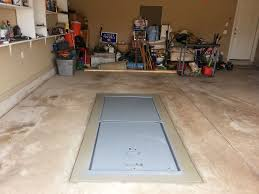 storm shelter in your garage