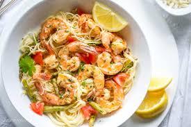 Shrimp Scampi with Asparagus and ...