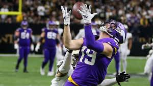 The story behind Kirk Cousins' perfect 43-yard pass to Adam Thielen ...