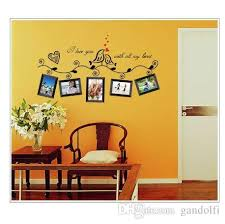 Vinyl Photo Frame Family Quotes Wall Stickers Living Room Decor Home Decals Art Posters Adesivos De Paredes Removable Decals Removable Decals For Walls From Gandolfi 5 75 Dhgate Com