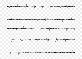 Aluminum Wires Png Image File Barbed Wire Fence Png Transparent Png 700x525 1178480 Pngfind