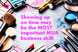 makeup artist business skill 1 be on