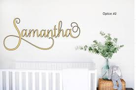 Custom Name Wall Decals Canada Etsy Baby For Nursery Art Removable Stickers Personalised With Butterflies Vamosrayos