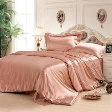 silk duvet cover bedding set