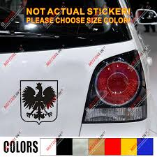 Poland Coat Of Arms Decal Sticker Polish Eagle Herb Polski Vinyl Simple Style Car Stickers Aliexpress
