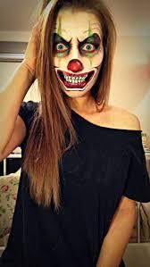halloween makeup scary clown makeup