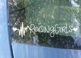 Raising Boys Raising Girls Car Decals Mrs Tollett Designs