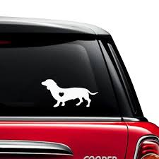 Dachshund Dog Car Decals The Decal Guru