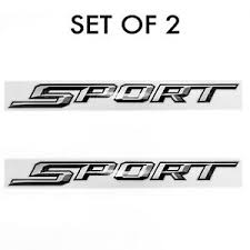 Set Of 2 Sport Decal Fits 2015 20 Ford F 150 F 250 Pickup Truck Bedside Non Oem