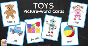 toys flashcards tea time monkeys