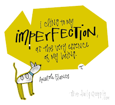 imperfect being the daily quipple