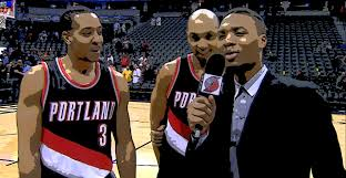 Damian Lillard Shows Off His Interview ...