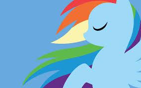 my little pony rainbow dash wallpapers