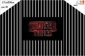 Stranger Things Invitaciones Para Imprimir Gratis Oh My Fiesta