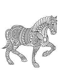 Paard Kleurplaat Kleurplaatje Nl