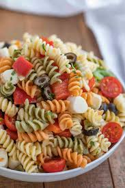 Easy Pasta Salad - Dinner, then Dessert
