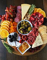 charcuterie board meat and cheese