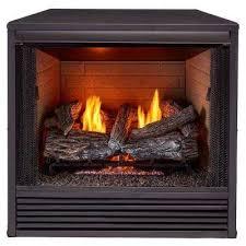 dual fuel ng lp gas fireplace