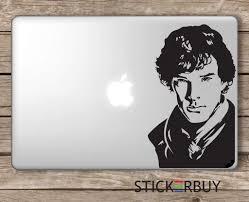 Stickerbuy Sherlock Holmes Laptop Vinyl Sticker Black Buy Stickerbuy Sherlock Holmes Laptop Vinyl Sticker Black Online At Low Price In India Amazon In
